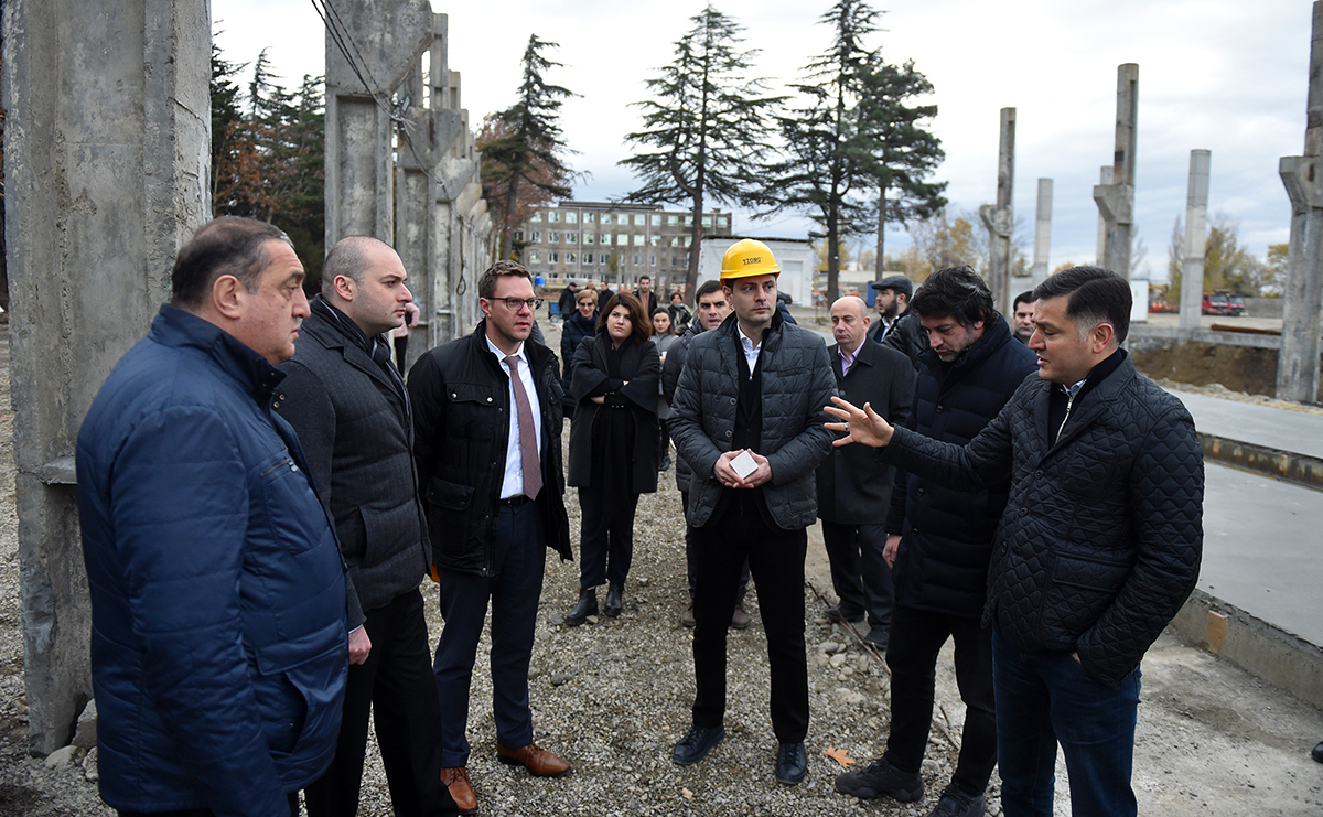 The construction of the Ytong Caucasus Factory is in progress